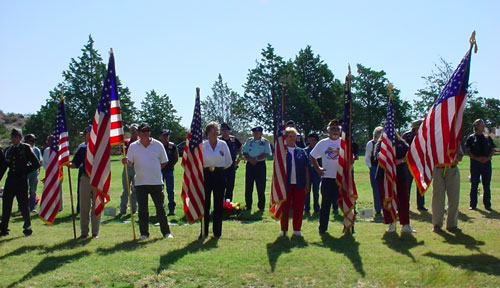 Memorial Day at the new cemetery